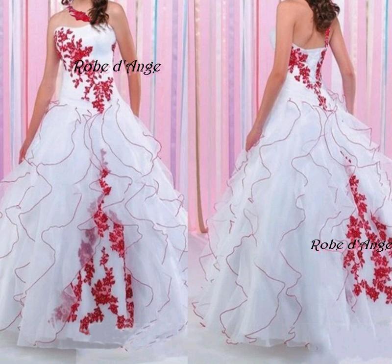 robe de mariee blanc rouge meilleur blog de photos de mariage pour vous. Black Bedroom Furniture Sets. Home Design Ideas