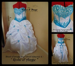Robe de marie blanche et turquoise free image gallery - Chambre blanche et turquoise ...