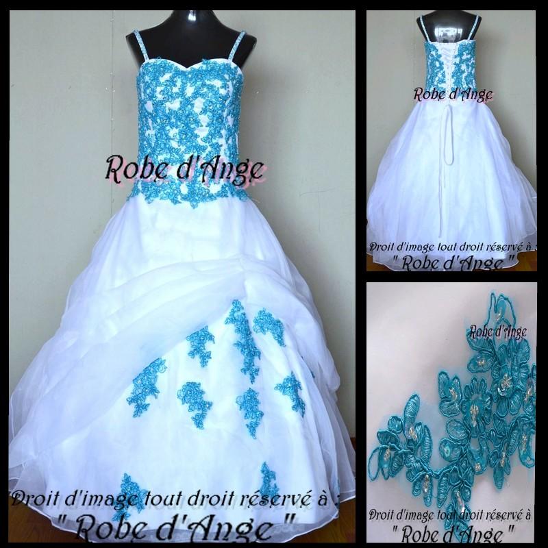 robe de mariage blanc et bleu turquoise robe fashion france. Black Bedroom Furniture Sets. Home Design Ideas